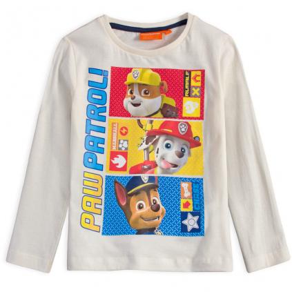 Chlapčenské tričko PAW PATROL WORK krémové