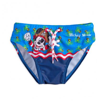 Chlapčenské plavky MICKEY MOUSE PIRÁT modré