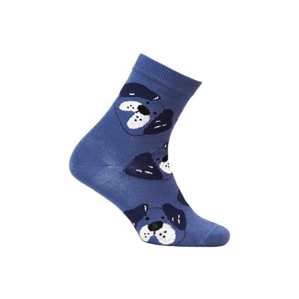 Chlapčenské ponožky s obrázkom GATTA PES modré
