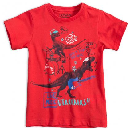 Chlapčenské tričko LOSAN DTROCKERS červené