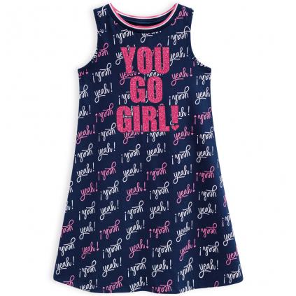 Dievčenské šaty KYLY YOU GO modré