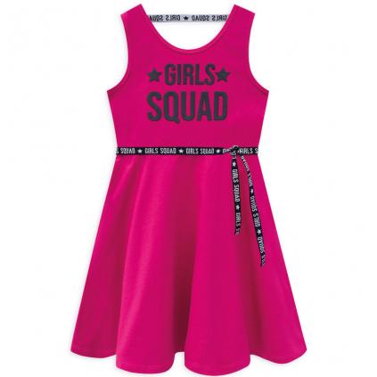 Dievčenské šaty KYLY GIRLS SQUAD ružové