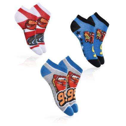 Chlapčenské ponožky DISNEY CARS PACK 2