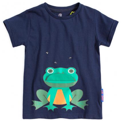 Chlapčenské tričko LEMON BERET FROG tmavo modré