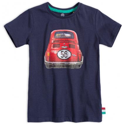 Chlapčenské tričko LEMON BERET FIAT modré