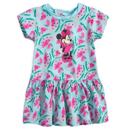 Letné šaty pre dievčatá DISNEY MINNIE FRUIT modré