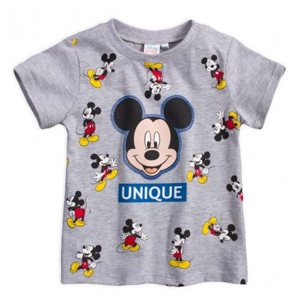 Chlapčenské tričko MICKEY MOUSE UNIQUE šedé
