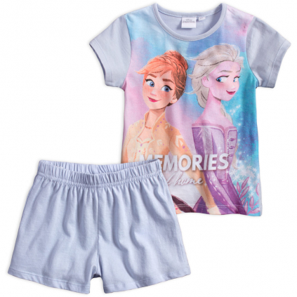 Dievčenské pyžamo DISNEY FROZEN MEMORIES modré