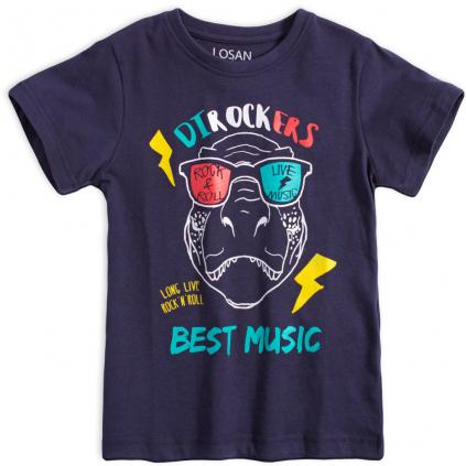 Chlapčenské tričko LOSAN DIROCKERS tmavo modré