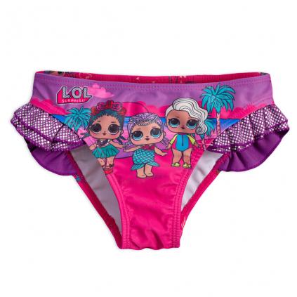 Dievčenské plavky L.O.L.SURPRISE BÁBIKY fialové