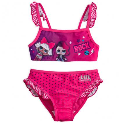 Dievčenské plavky L.O.L.SURPRISE ROCK ružové