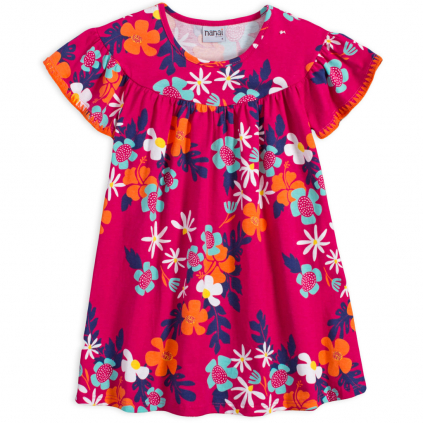 Dievčenské šaty NANAI MARGARITA ružové