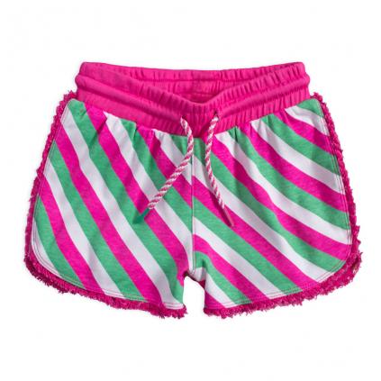 Dievčenské šortky LEMON BERET AZALKA ružové