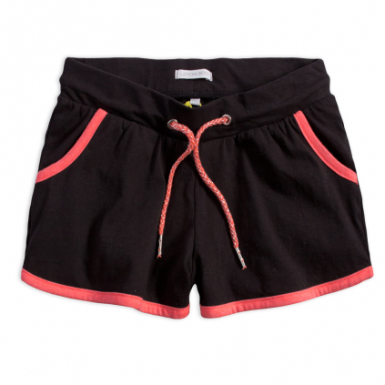 Dievčenské šortky LEMON BERET TEENS čierne