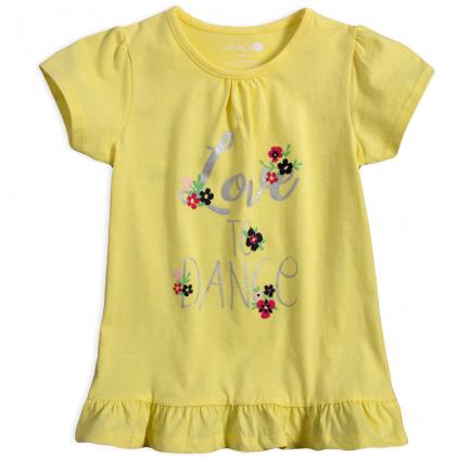 Dievčenská tunika VENERE LOVE DANCE žltá