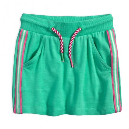 Dievčenská sukňa LEMON BERET JADE zelená