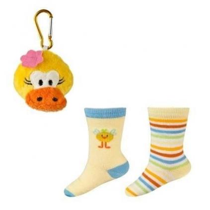 Ponožky s darčekom  KAČIČKA