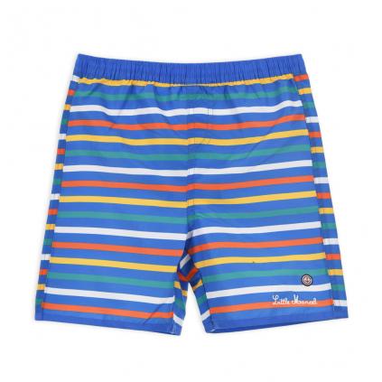 Chlapčenské plavky LITTLE MARCEL PRÚŽKY modré