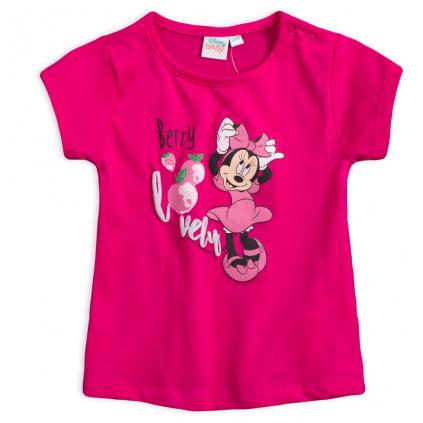 Dievčenské tričko DISNEY MINNIE BERRY ružové