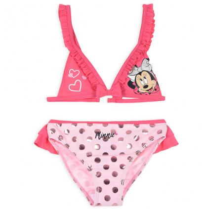 Dievčenské plavky DISNEY MINNIE COOL ružové