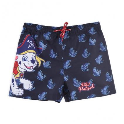 Chlapčenské kúpacie šortky PAW PATROL PIRÁT tmavo modré