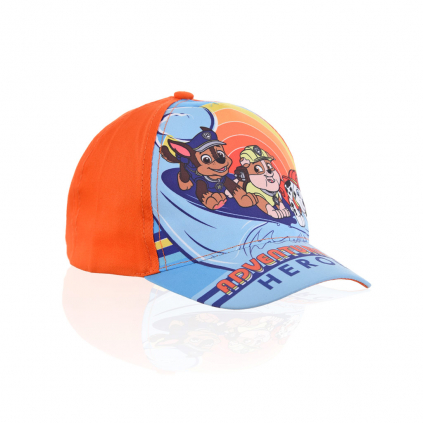 Detská šiltovka PAW PATROL SURFING oranžová