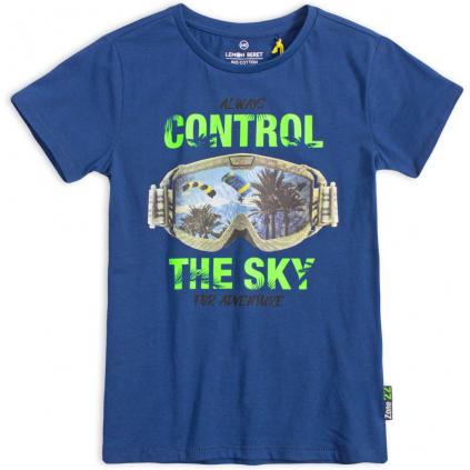 Chlapčenské tričko LEMON BERET CONTROL modré