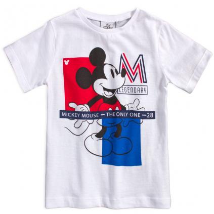 Chlapčenské tričko MICKEY MOUSE LEGENDARY biele
