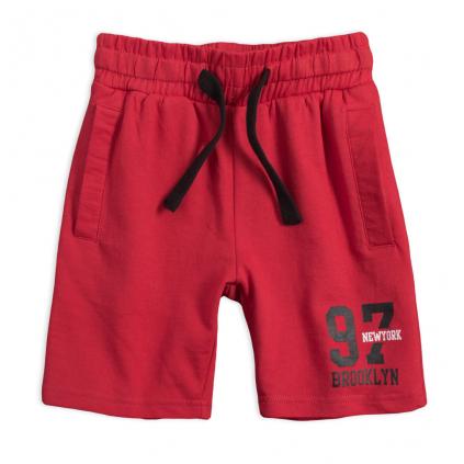Chlapčenské šortky GLO STORY 97 NEW YORK červené