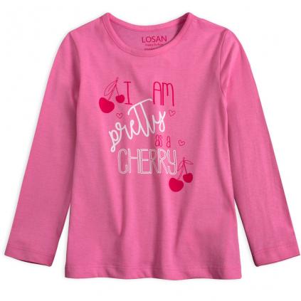 Dievčenské tričko LOSAN PRETTY ružové