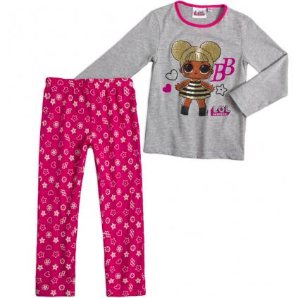 Dievčenské pyžamo L.O.L.SURPRISE BB šedé