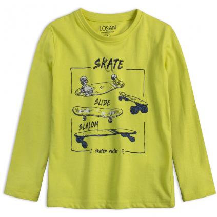 Chlapčenské tričko LOSAN SKATE SLIDE zelené