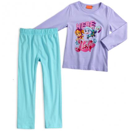 Dievčenské pyžamo PAW PATROL fialové