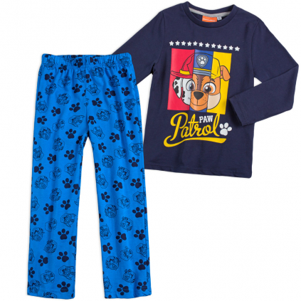 Chlapčenské pyžamo PAW PATROL modré