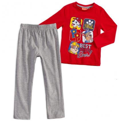 Chlapčenské pyžamo PAW PATROL červené