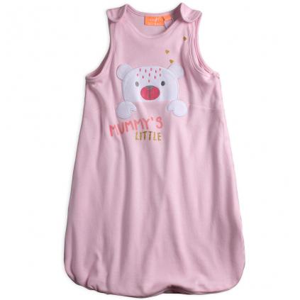 Dojčenský spací vak KNOT SO BAD MUMMYS LITTLE ružový