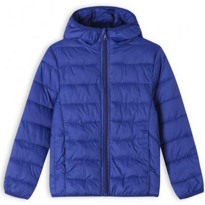 Detská ľahká prešívaná bunda GLO STORY tmavo modrá