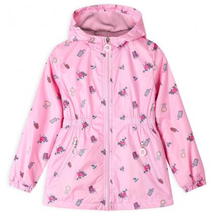 Dievčenská bunda GLO STORY CELEBRATE ružová
