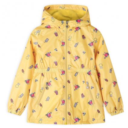Dievčenská bunda GLO STORY CELEBRATE žltá