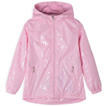 Dievčenská bunda GLO STORY YEAH svetlo ružová