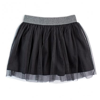 Dievčenská sukňa VENERE MESSY čierna