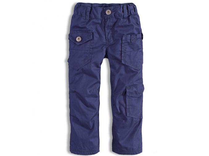 Chlapčenské zateplené plátenné nohavice DIRKJE