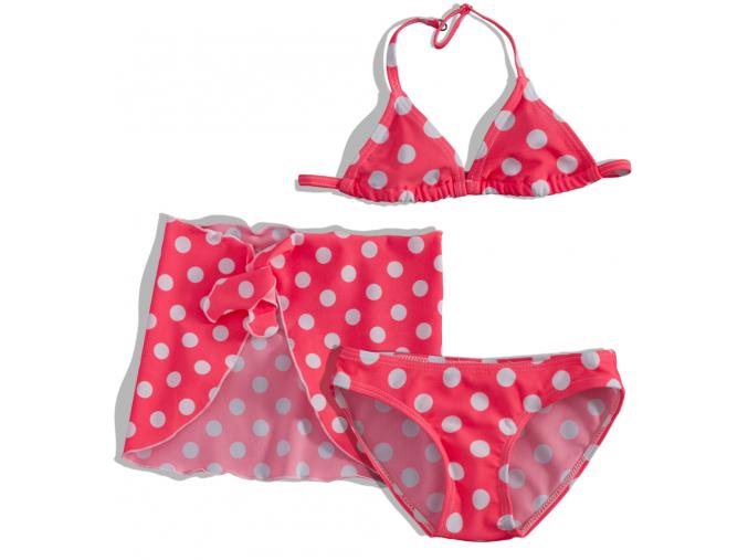 Dievčenské plavky + pareo