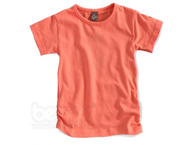Dievčenské jednofarebné tričko