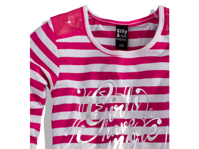 Dievčenské tričko dlhý rukáv