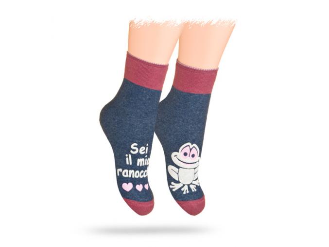 """Svietiace"" ponožky WOLA ŽABKA"