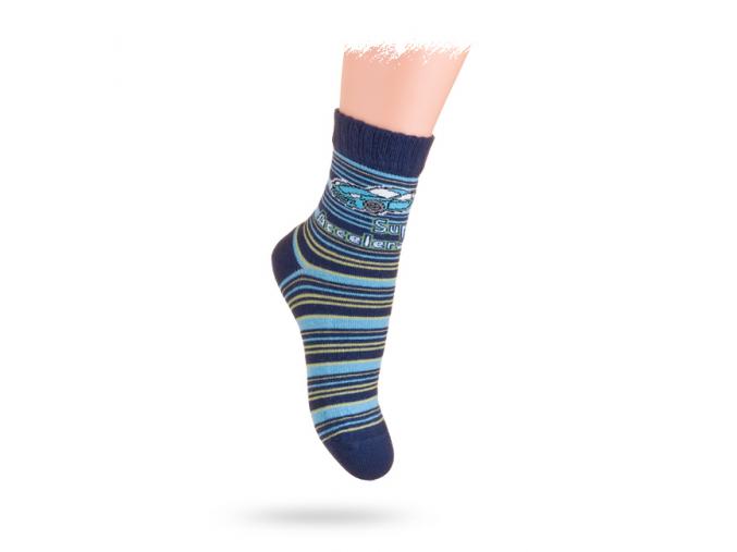 Ponožky WOLA, vzor ŠPORTIAK