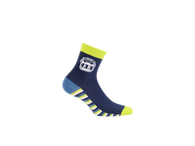 Ponožky WOLA vzorované, CARS
