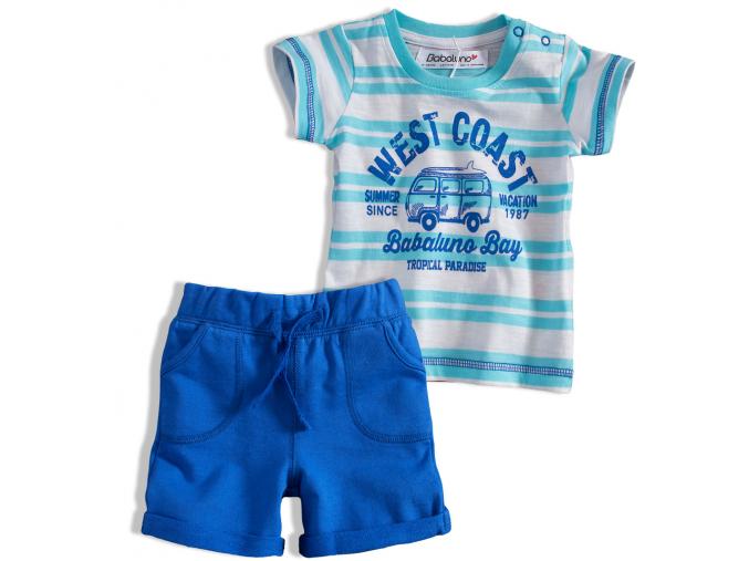 Dojčenská súprava pre chlapcov OCEANSIDE BABALUNO modrá