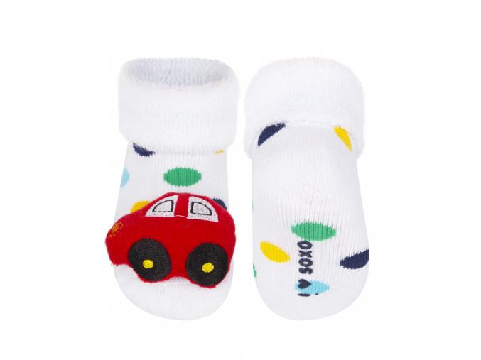 Ponožky s hrkálkou SOXO AUTO